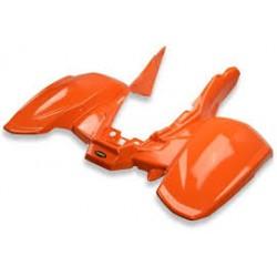 carena posteriore polaris predator 500 arancio