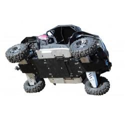 SKID PLATES PIASTRE PARAMOTORE IN ALLUMINIO PER QUAD E ATV