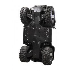 SKID PLATES PIASTRE PARAMOTORE IN PLASTICA PER QUA E ATV