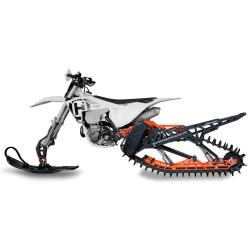 KIT CINGOLI NEVE PER MOTO SNOWRIDER SP 137 PRO-SE
