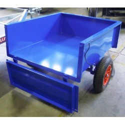 carrello quad blu